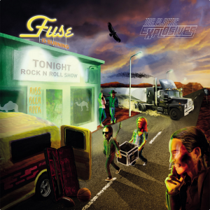 Fuse Is Burning - Cover Art by Koiramies